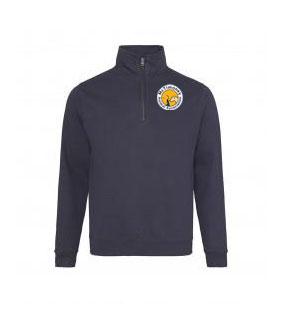 Sweatshirt-half zip